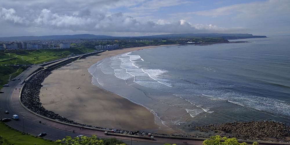 Panorama sur la Mer du Nord