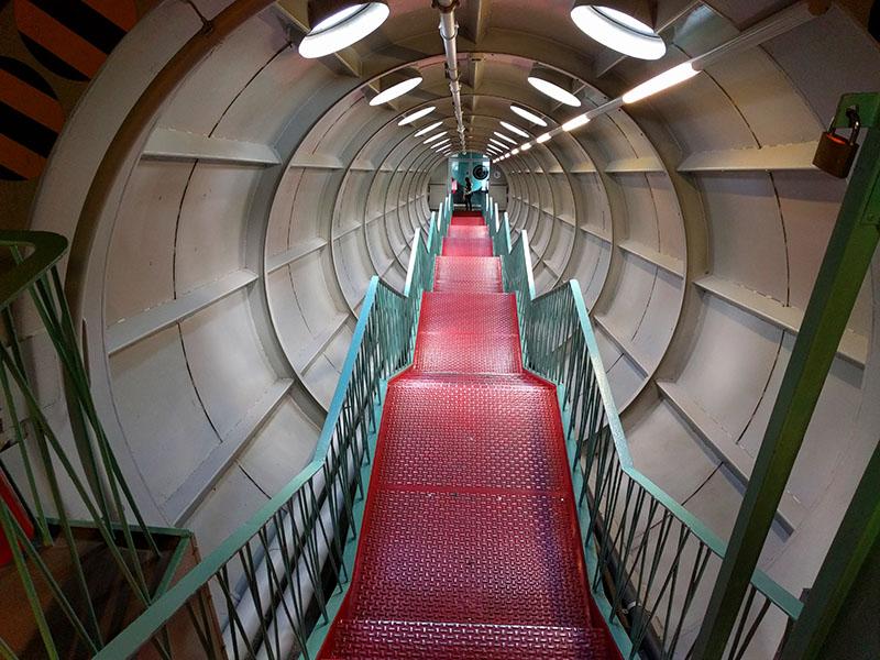 Atomium-escalier
