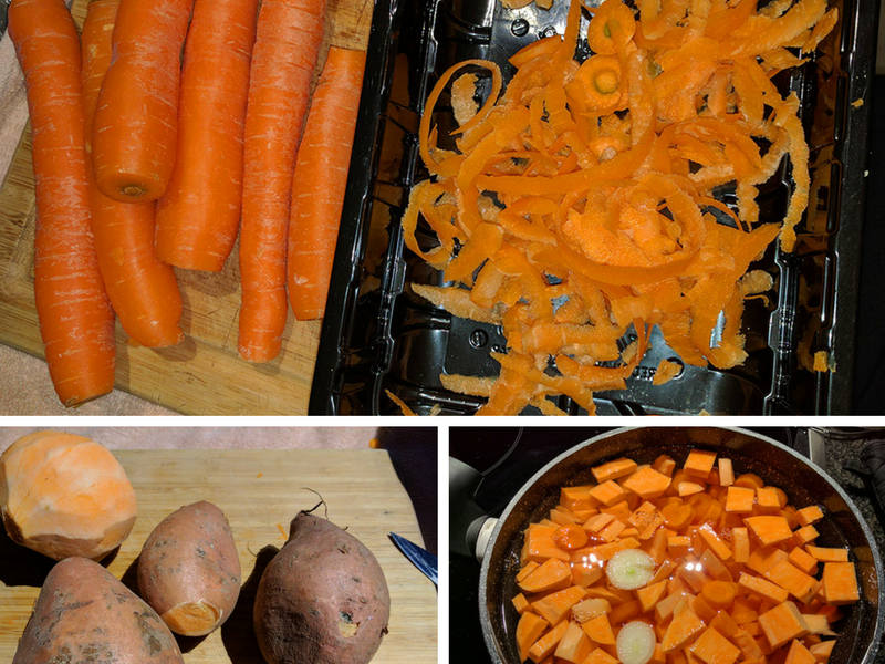 recette pur e de patates douces carottes mamzel 39 dree. Black Bedroom Furniture Sets. Home Design Ideas