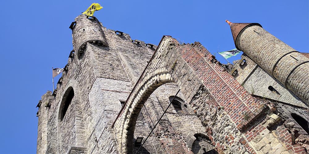 Le Château médiéval de Gand